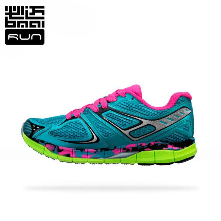 BMAI Anti-Microbial Breathable Women Professional Running Shoes Brand Antislip Sport Run Memory Cushioning Sneakers #XRMB004