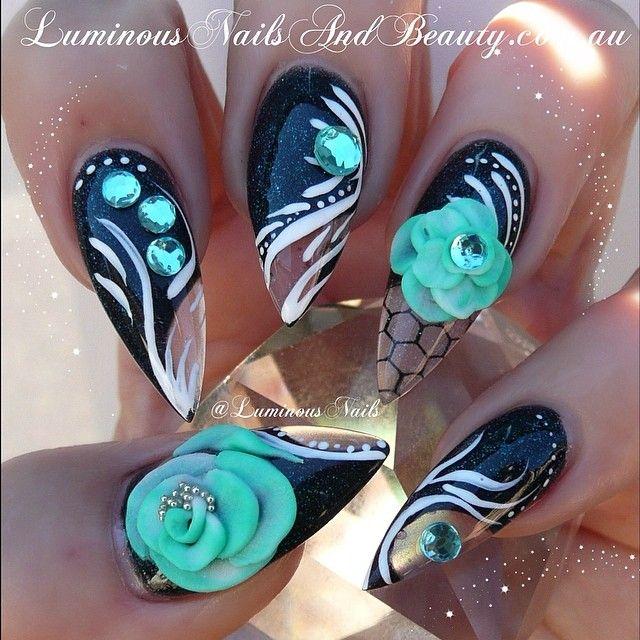 Instagram photo by luminousnails #nail #nails #nailart