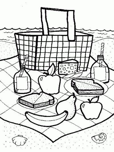 picnic basket craft for preschool - Google Search