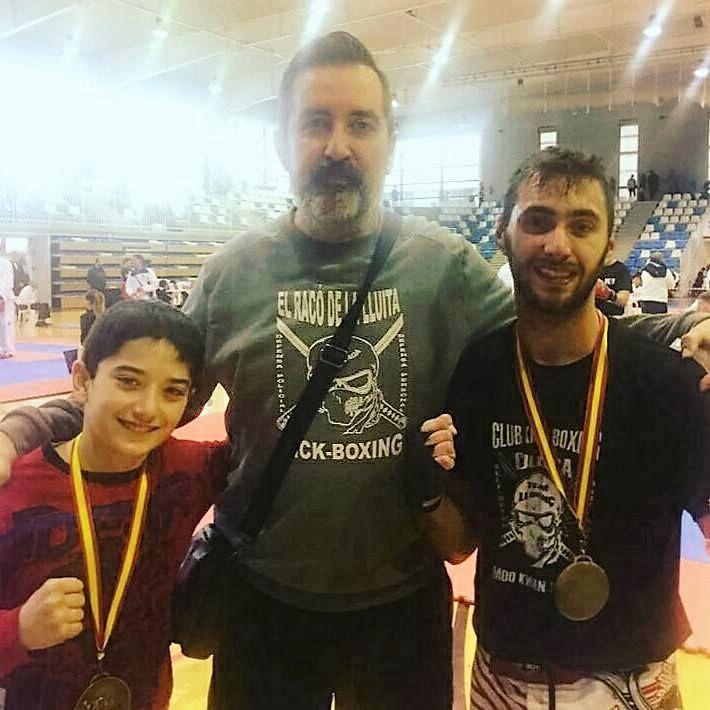Javier Pinazo del El Racó De La Lluita aconsegueix 4 medalles en  el Campionat de Kick-Boxing de la Comunitat Valenciana 2017.