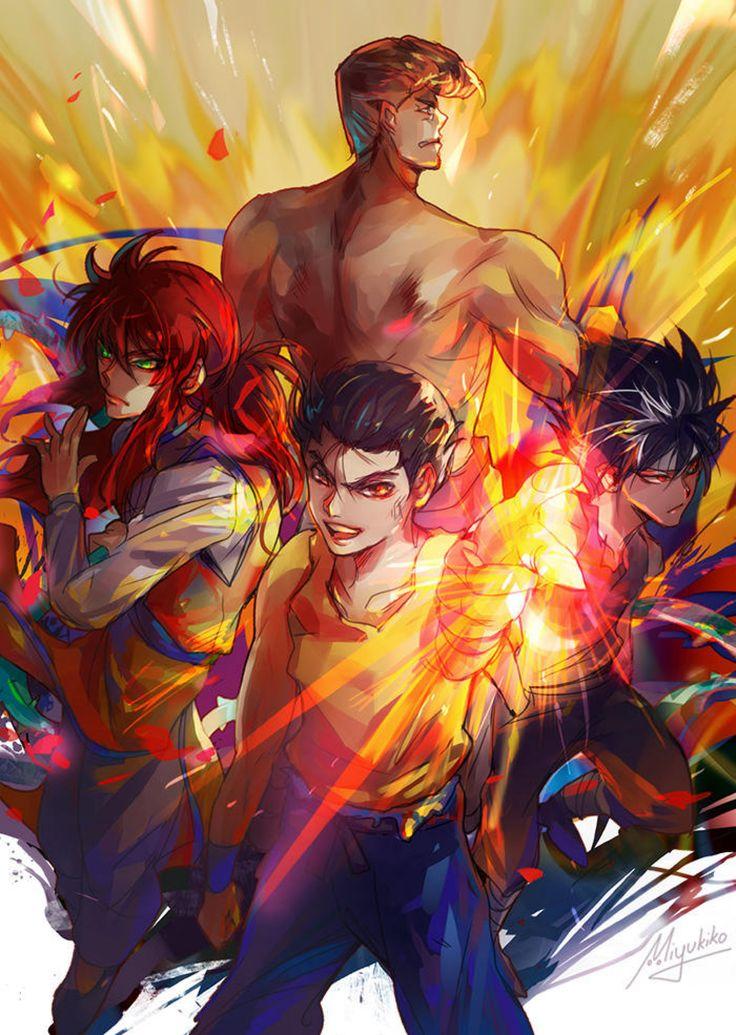 Yu Yu Hakusho Team Urameshi by Miyukiko on DeviantArt