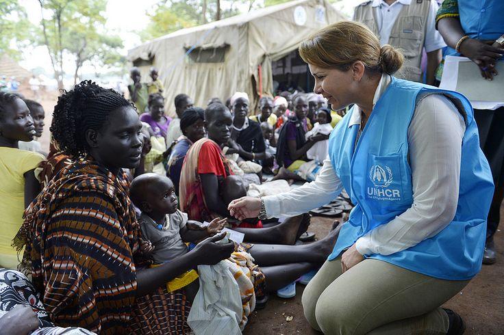 UN envoy Princess Haya meets South Sudan refugees in Ethiopia  Princess Haya meets refugees in Kule 2 Refugee Camp in Ethiopia.