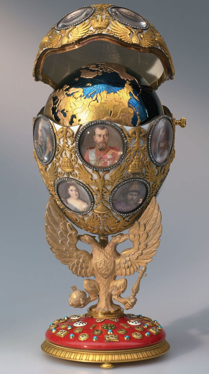 155 best imperial faberg easter eggs images on pinterest easter imperial faberg egg no 43 the romanov tercentenary egg emperor nicholas negle Gallery