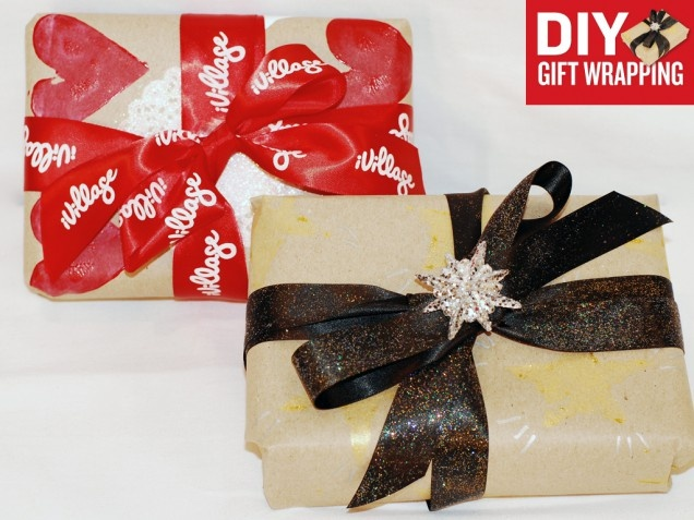 DIY Gift Wrapping Paper - iVillage