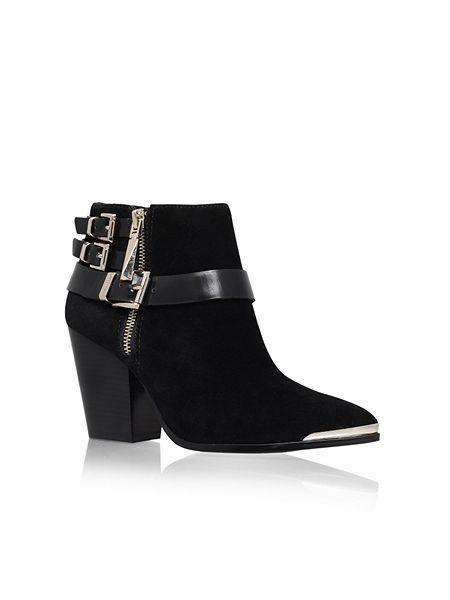 Adelfi mid heeled ankle boot