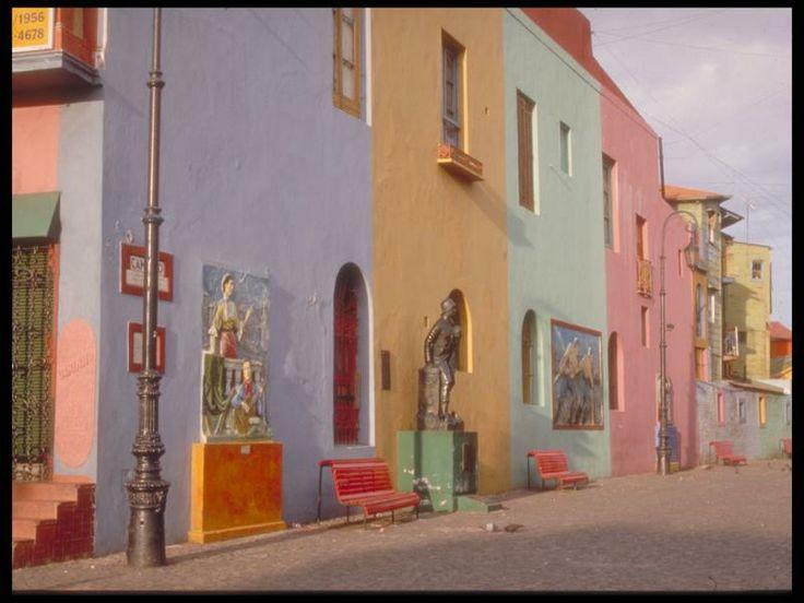 Ciudad Autónoma de Buenos Aires - La Boca, Caminito, Más info de viajes en www.facebook.com/viajaportupais