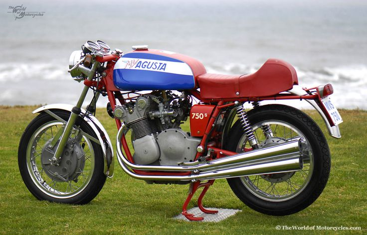 1974 MV Agusta 750s - I have always admired this engine and exhaust