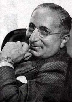 Louis B. Mayer (1885–1957), co–founder of Metro Goldwyn Mayer Motion Picture Studios was one of the noted celebrities that resided at the magnificent Garden Court Apartments