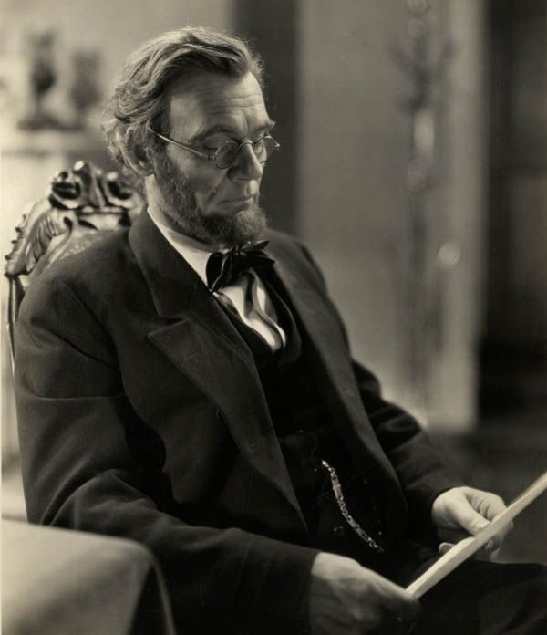 D. W. Griffith's Abraham Lincoln (Walter Huston)