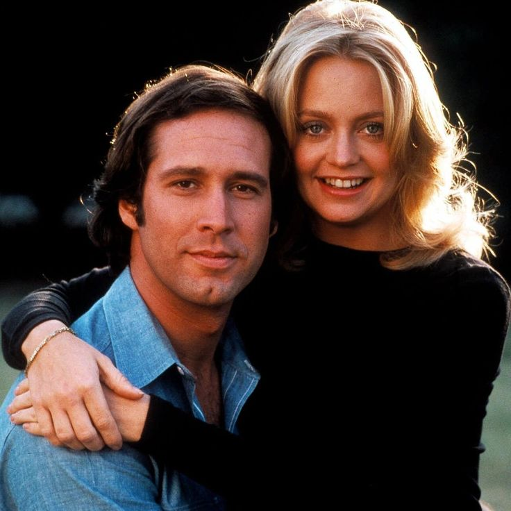 """Chevy Chase Goldie Hawn """"Foul Play"""", 1978 One of the funniest movies ever!!! look for Dudley moore's moment."""