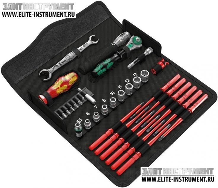 WERA   Купить WE-135926ET   Набор сервисного инструмента Kraftform Kompakt W1   ***Элит-инструмент