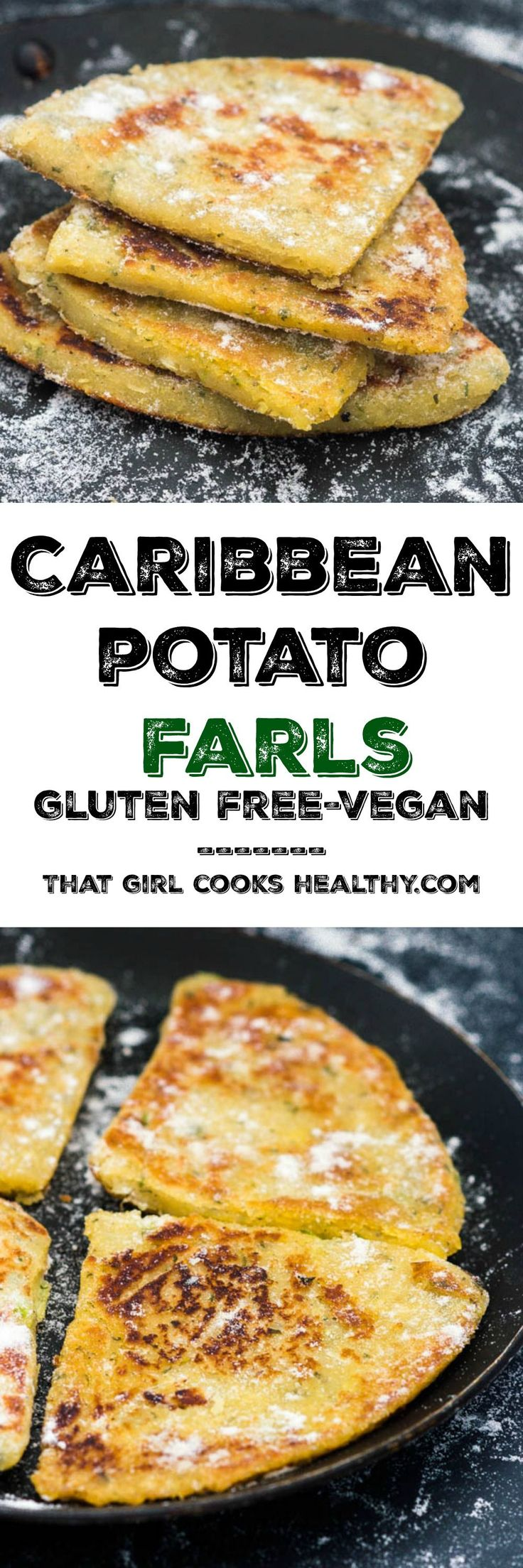 Potato farls recipe - where the Caribbean meets Ireland, a true culinary affair of sweet potatoes, generously seasoned with common island ingredient and mashed into potato cakes. I'm so excited to share this recipe with you all because it's another fusion recipe. In case you aren't aware, I d