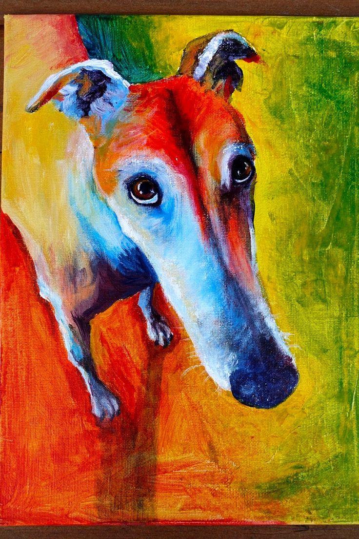1682 Best Greyhound/Whippet Art Images On Pinterest