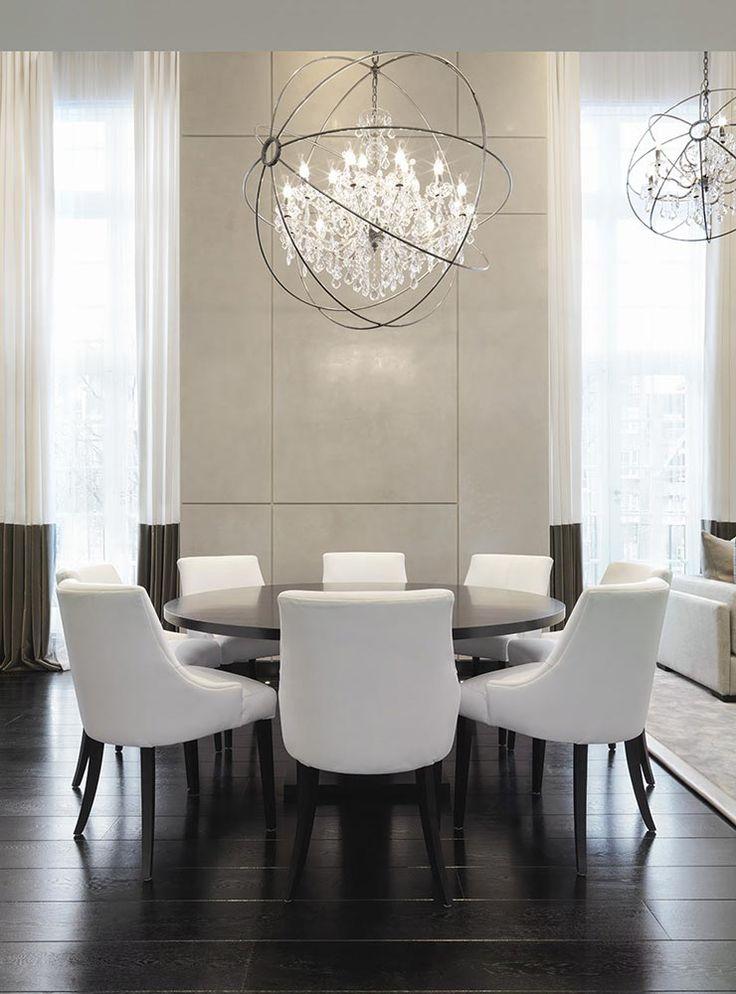 Find Unique Lighting Ideas For A Modern Dining Room Design