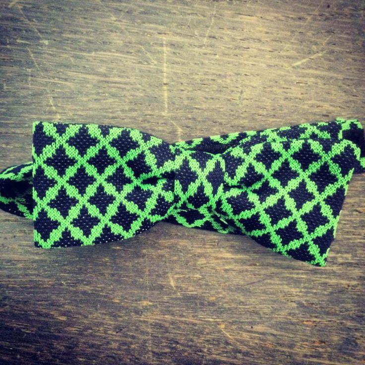 John Sheep Jersey bow-ties | source: Monsieur Bologna | http://www.johnsheep.com/  #bowtie #jersey #SS14 #style #gentleman
