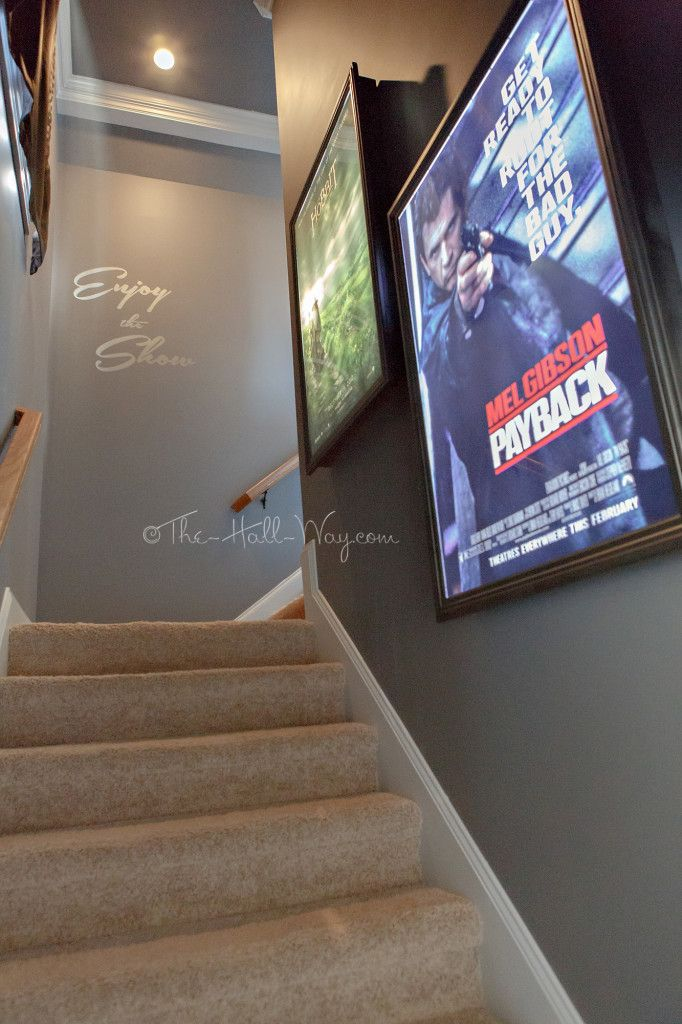 Home Theater Entrance - DIY Home Theater