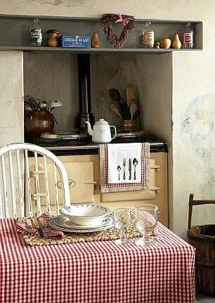 Trend Cottage Kitchen