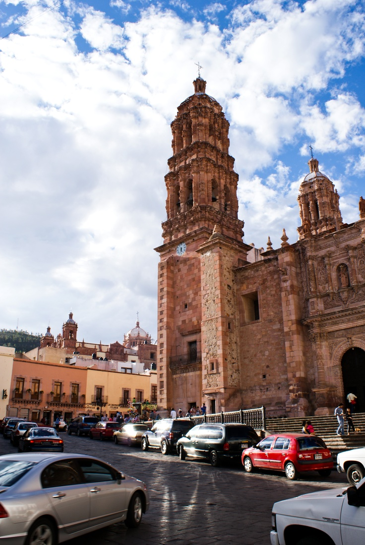 Catedral de Zacatecas (Mexico) - reminds me of dad and our vacations to mexico