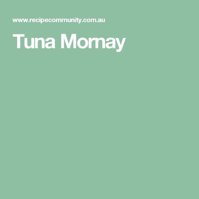 Tuna Mornay