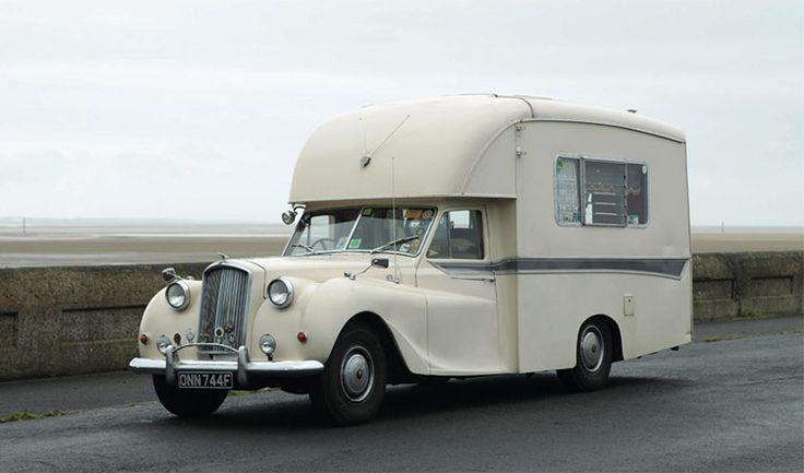 BMC Princess was coach-built, in 1967, on a Vanden Plas Princess chassis; this campervan is unique.
