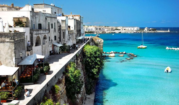 Best beaches in Italy 2014 according to Blue flag - Otranto, Apulia - Otranto is located on the east coast of the Salento peninsula and was a town of Greek origin. It features many interesting sights like the Castello Aragonese, the Cathedral, the catacombs.