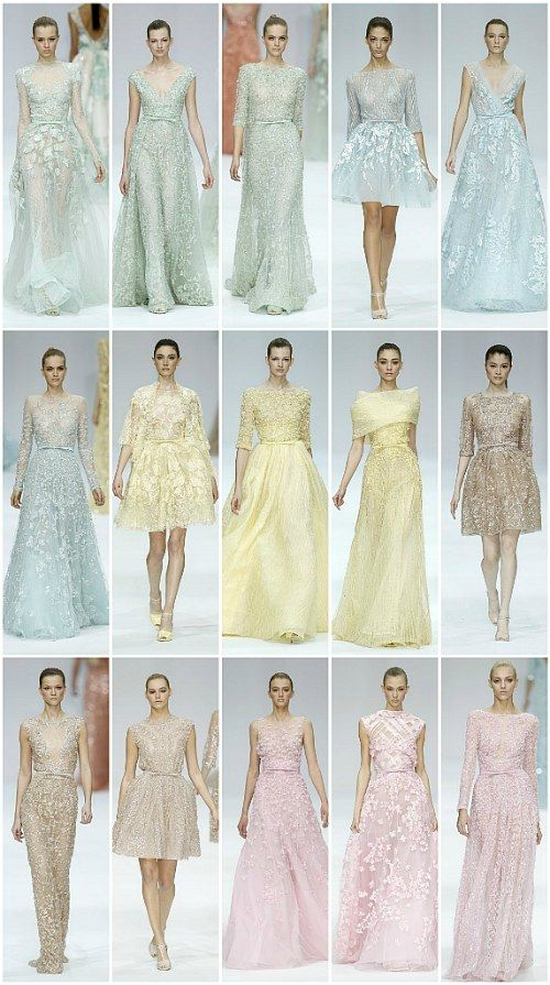 Love the pastels. So soft, yet striking.