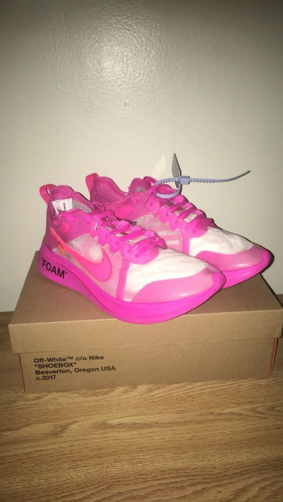 1a2f2b381deb Off-White X Nike Zoom Fly SP Pink Size  10  fashion  clothing  shoes   accessories  mensshoes  athleticshoes (ebay link)