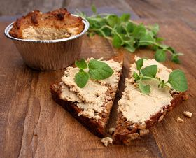Oppskrift Bonderups Levepostei Vegansk Leverpostei Tofu Hjemmelaget Pålegg Vegetarisk Kjøttfri
