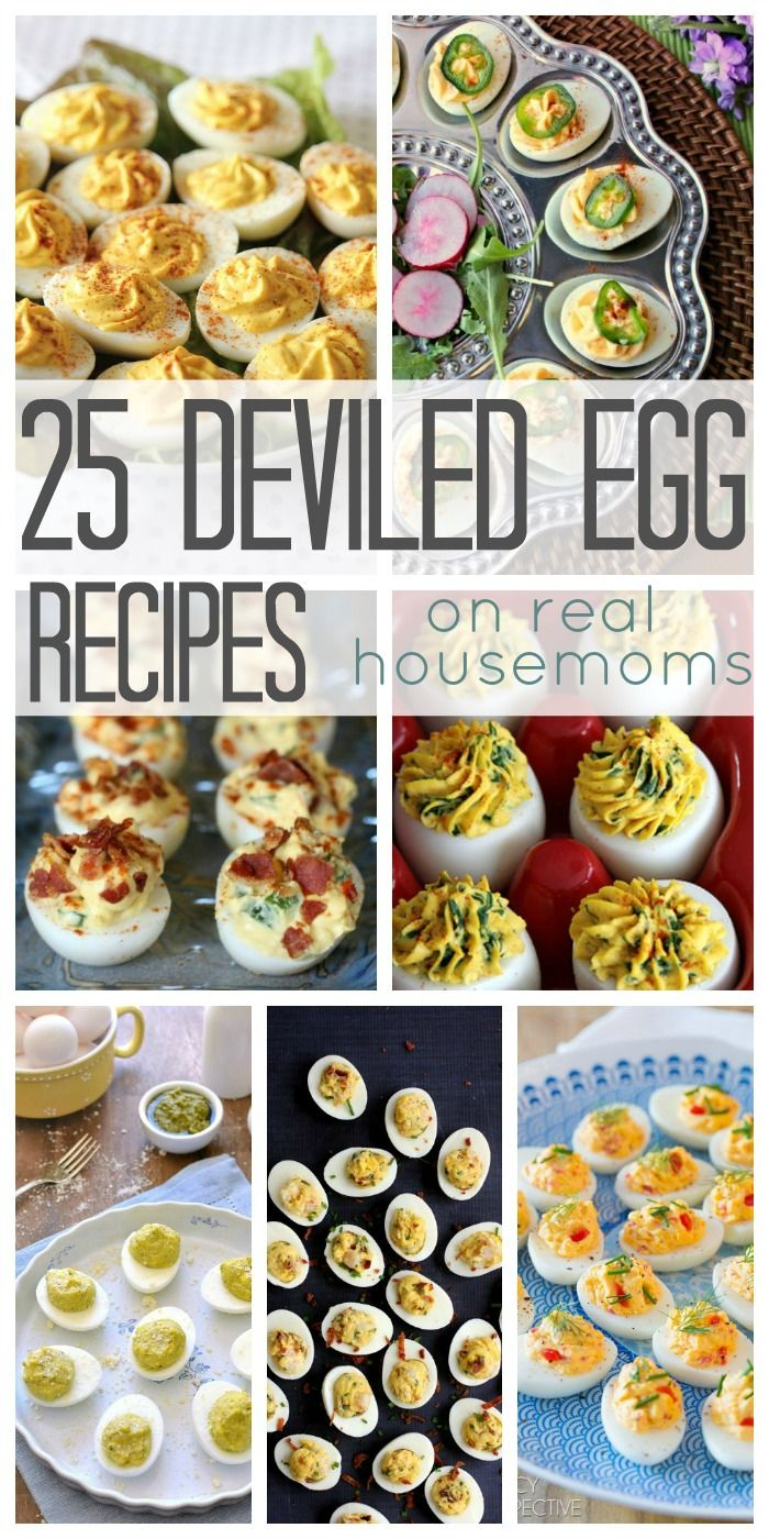 25 Deviled Egg Recipes on Real Housemoms