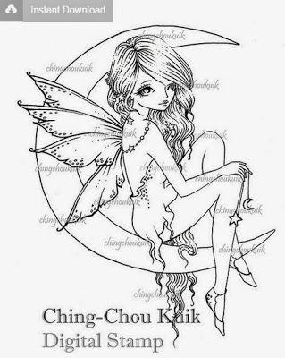 Ching-Chou Kuik Digitální Známky Inspirace a Challenge Blog: Telegraficky - Nové obrázky v Ching-Chou Kuik Digitální Známky Etsy Store