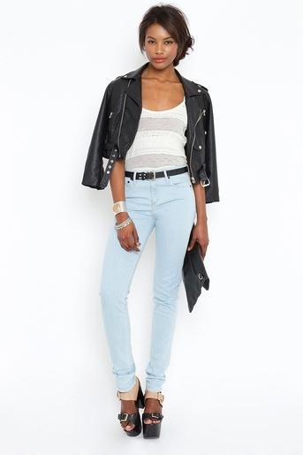(vegan leather): Skinny Jeans, Streetlight Fashion, Vegans Leather, I M Wear