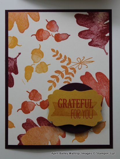 For All Things, Stampin Up