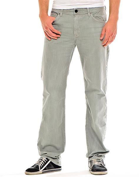 Мужские светло серые джинсы