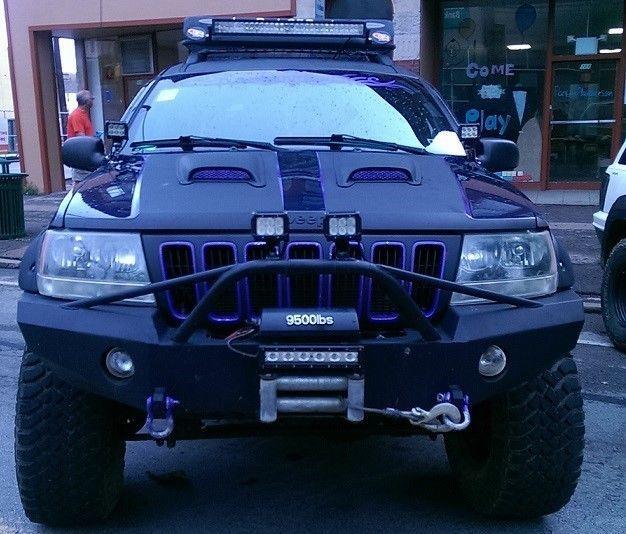 Charming Jeep Grand Cherokee WJ Winch Front Bumper Pre Runner
