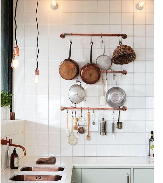 Kitchen Transformations: Mint Kitchen, Scandinavian Kitchen, Kitchen