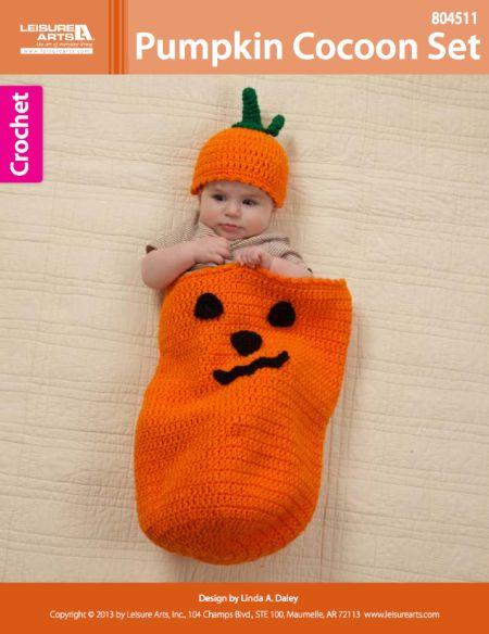 Pumpkin Cocoon Crochet ~ free pattern All Things ...