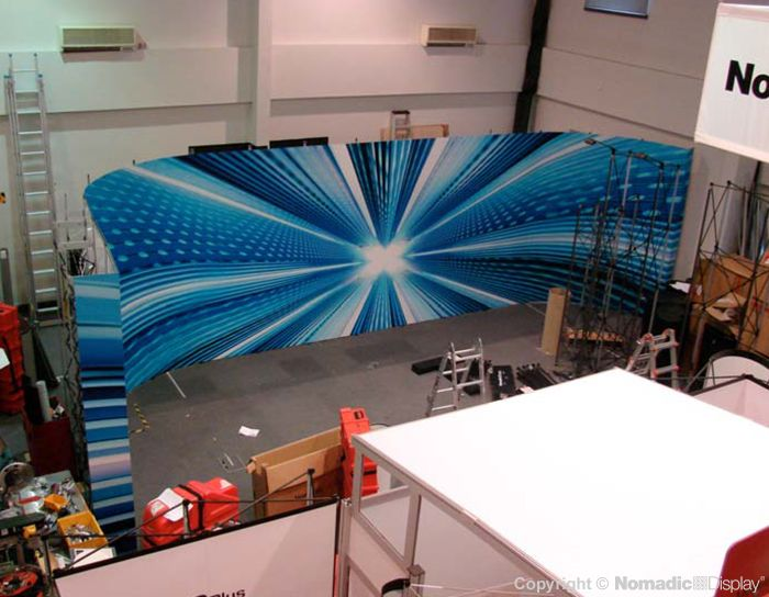 X Factor Show Stage Backdrop