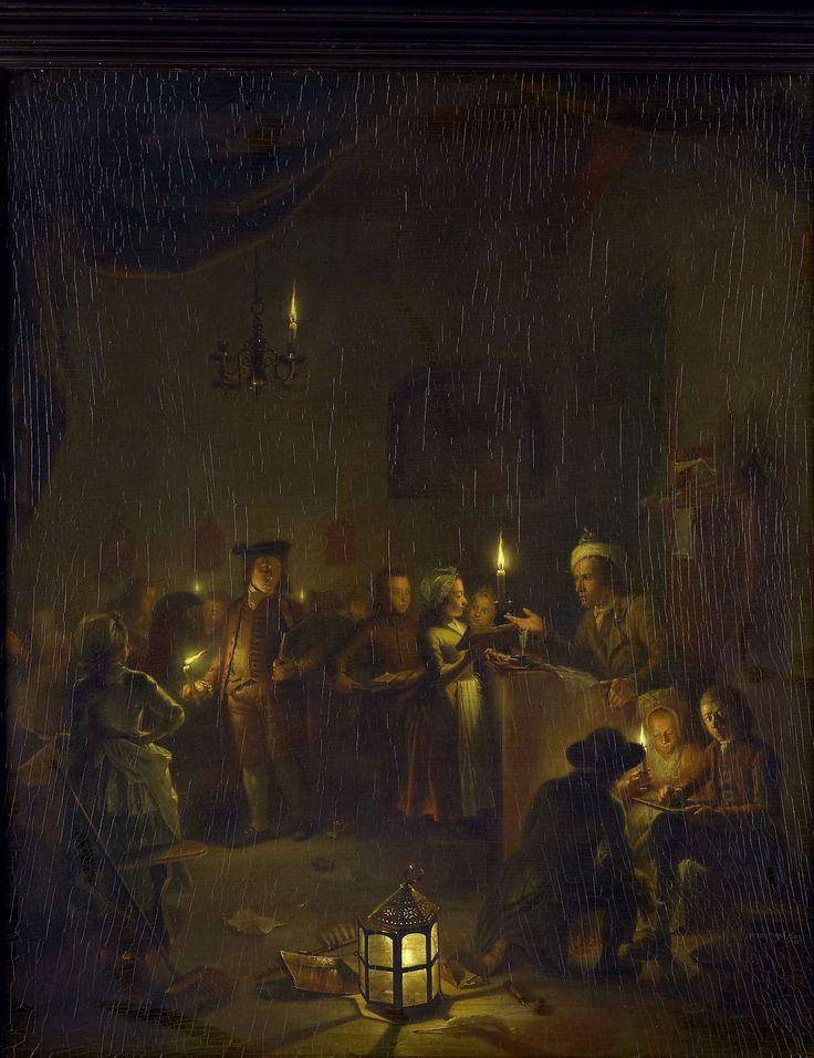 Evening SchoolDe avondschool, Michiel Versteegh, 1786