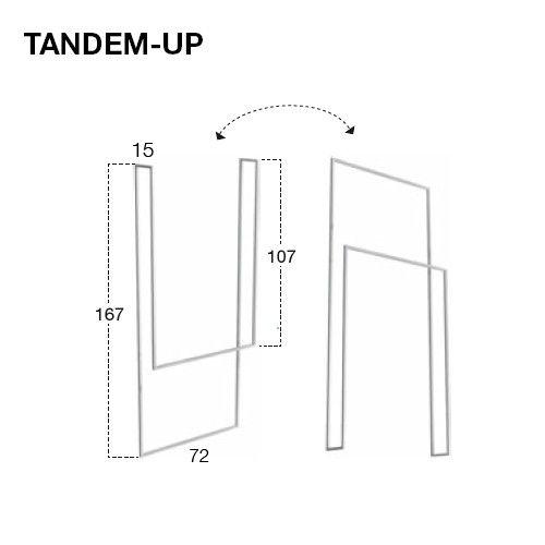 Grundtal Ikea Handtuchhalter ~ antoniolupi TANDEM UP Handtuchhalter edelstahl satiniert,Decken oder