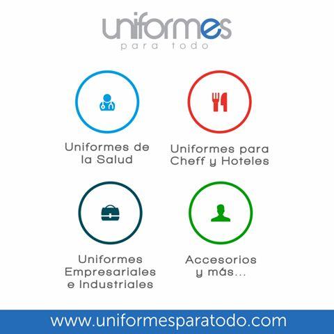 ¿Ya conoces nuestros uniformes? Ingresa ahora a: www.uniformesparatodo.com y mira cada detalle #Colombia #Empresas #Uniformes #Dotacion #UniformesparaTodo
