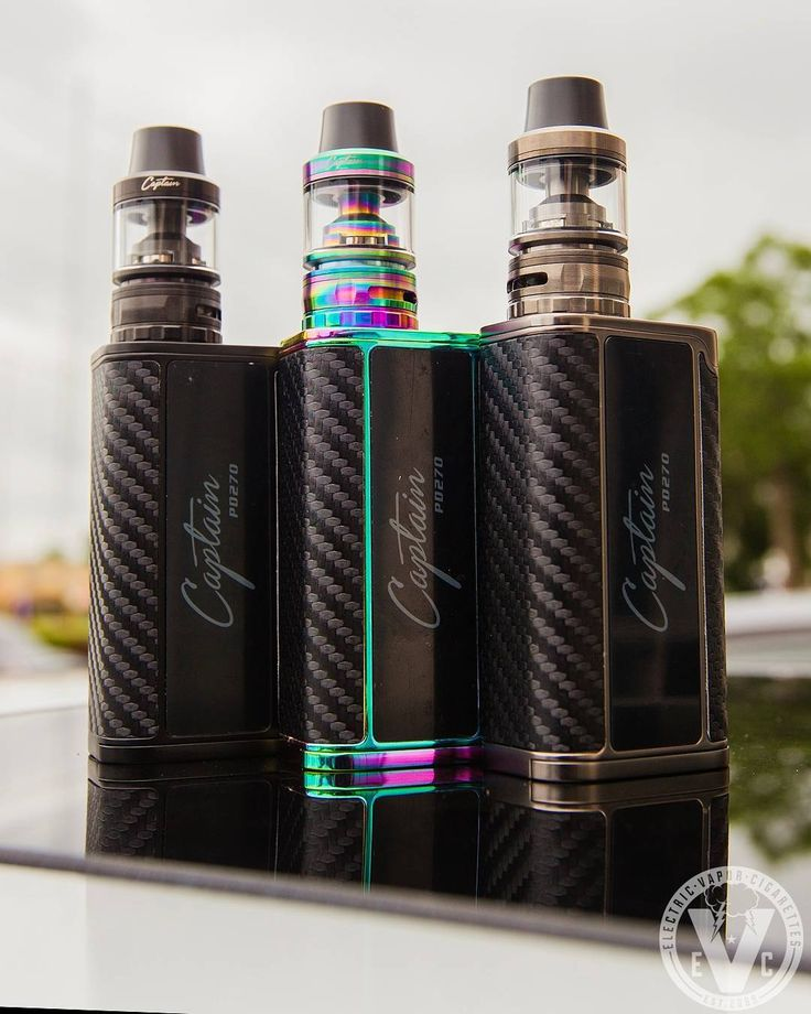 Vape Setup Of The Day! ATTY: Captain Sub-Ohm Tank Atomizer MOD: Captain PD270 Mod  _____________________________ iJoy created the Captain series to lead the way for further innovation in the vaping industry. Let's start with the tank.  Check The Specs: ️25mm Diameter ️Heat Dissipating Design ️4mL Juice Capacity ️Top Fill Port ️Dual Cyclops Airholes ️Fully Adjustable Airflow ️High VG Friendly Atomizer Heads ️Easy Pull & Replace Threadless Heads ️Wide Bore Delrin Drip Tip ️And More!