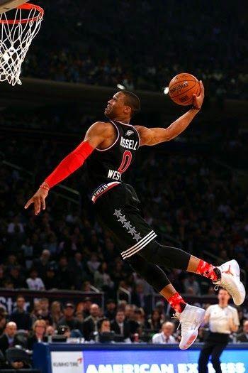 Blog Esportivo do Suíço: Westbrook vive noite de MVP e leva time do Oeste ao triunfo no All-Star Game