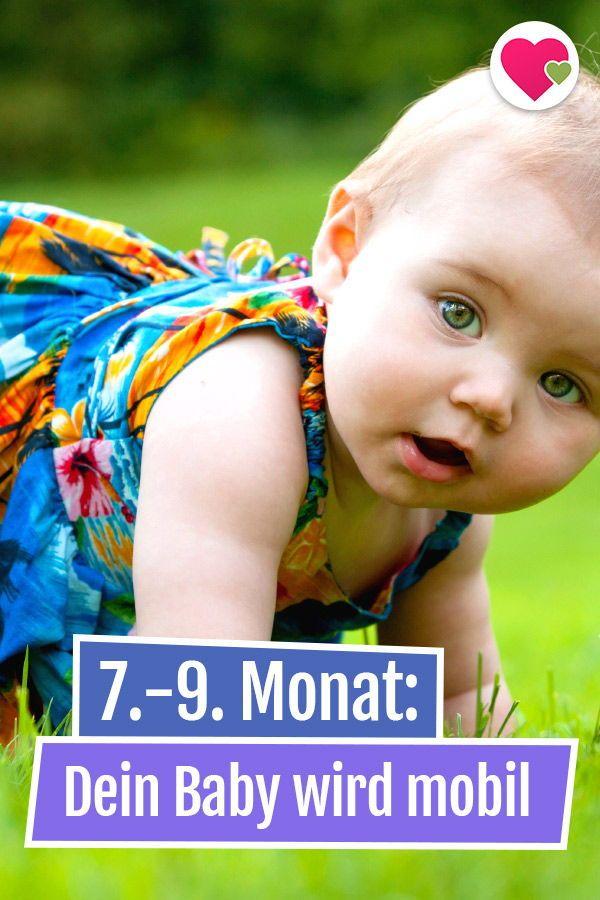 Dein Baby Wird Mobil Baby Lernen Baby Und Baby Fordern