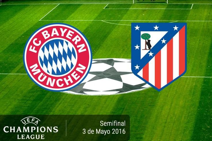 Bayern Munich vs Atlético de Madrid, Semifinal ¡En vivo por internet! | Champions 2016 - https://webadictos.com/2016/05/02/bayern-munich-vs-atletico-madrid-champions-2016/?utm_source=PN&utm_medium=Pinterest&utm_campaign=PN%2Bposts