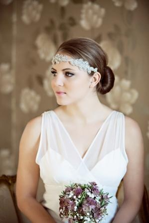 Meropi head piece exclusive to Dimitra's Bridal Chicago.  Beautiful as a necklace or belt also!!