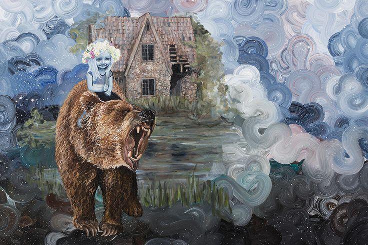 Billedkunstner Anne Juul Christophersen | Malerier