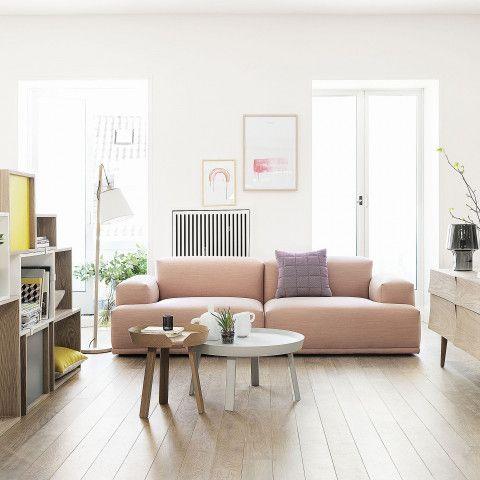 Muuto Around Beistelltisch. Im Schlafzimmer als Beistelltisch oder im Wohnzimmer als Couchtisch einsetzbar. https://www.ikarus.de/marken/muuto.html