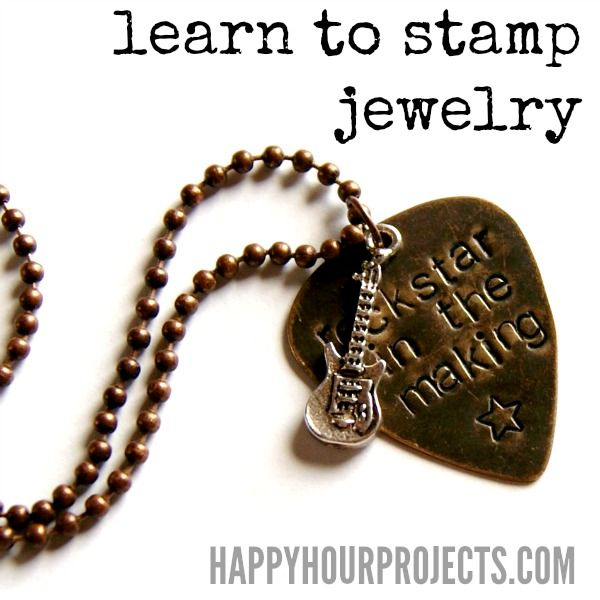 Jewelry Stamping - Happy Hour Projects