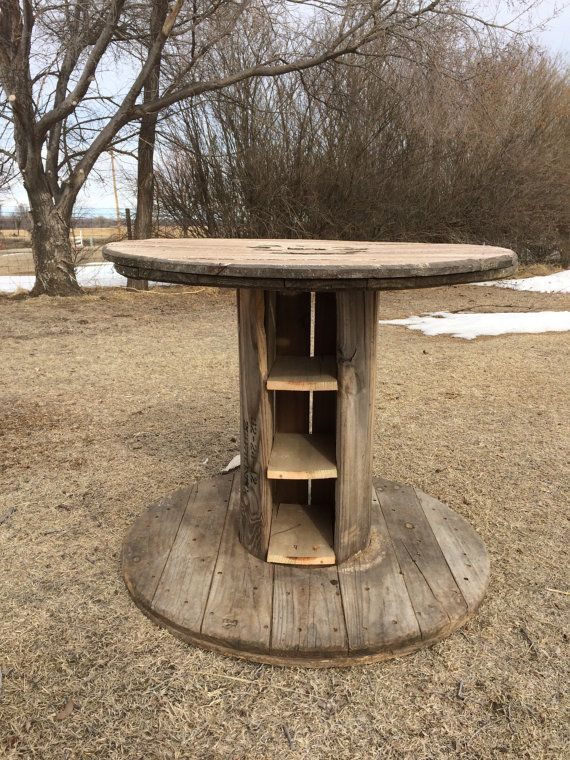 17 best ideas about wood spool on pinterest spool tables for Wooden reel furniture