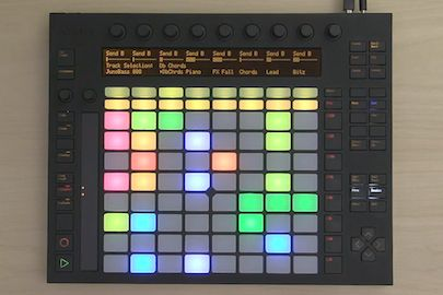Been wanting a multi-pad controller for a while. Almost got the Novation Launchpad but decided on the Ableton/Akai Push instead. Glad I did, this thing is awesome!